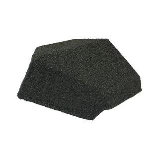 Plastic Hip End Cap 90 - Titanium Grey