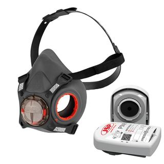 Force 8 'Press To Check' Mask With P3 Filters