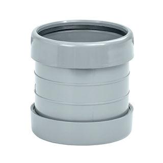 MFP 110mm Soil Pipe Coupler Grey