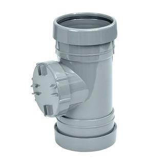 MFP 110mm Soil Access Pipe Grey
