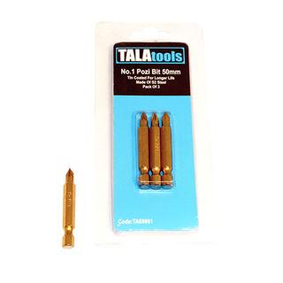 Tala PZ1 50mm Titanium Coated Insert Bit
