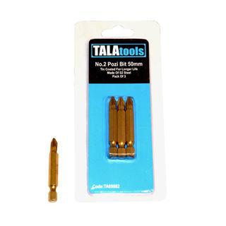 Tala PZ2 50mm Titanium Coated Insert Bit