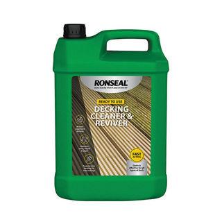 Ronseal Decking Cleaner & Reviver 5lt