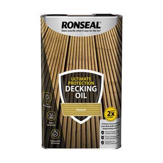 Ronseal Ultimate Decking Oil Natural 5lt