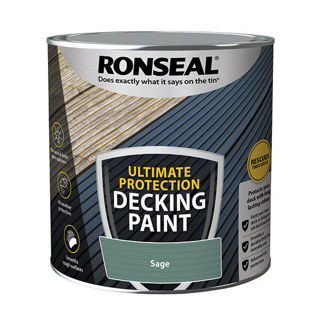 Ronseal Ultimate Decking Paint Sage 2.5lt